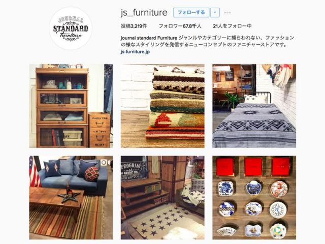 journal standard Furnitureさん(@js_furniture)